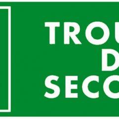 Adhésif « Trousse de secours » 29 x 10 cm