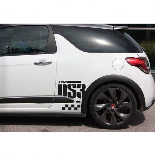Kit latéral Citroën DS3 racing couleur au choix