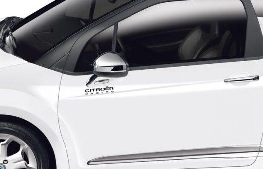 Lot de 2 sticker Citroën Racing 12,5 cm