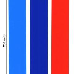 3 bandes adhésives rouge, bleu clair et bleu foncé idéal pour BMW