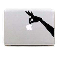 Sticker main pour Macbook 13, 15 et 17″