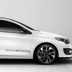 2 Stickers Renault Sport en vinyle adhésif
