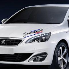 Sticker Peugeot Sport 30 x 12 cm