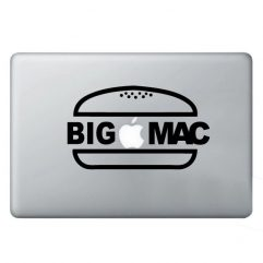 Sticker Big Mac pour Macbook 13, 15 et 17″